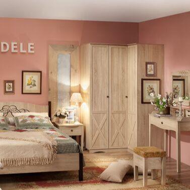 Стеллажи и полки. Оригинально, функционально, недорого — Спальня ADELE +