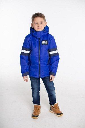 Детская Демисезонная Куртка Джек расцветка Синий
