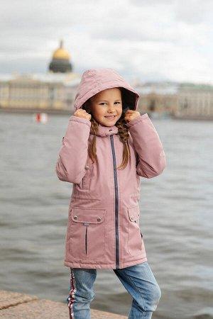 Детская Демисезонная Куртка Сюзет расцветка Чайная Роза