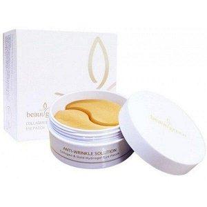 BeauuGreen Гидрогелевые патчи c коллагеном и коллоидным золотом для кожи вокруг глаз Collagen & Gold Hydrogel Eye Patch, 60шт