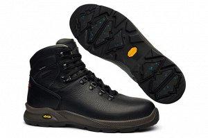 Мужские ботинки, черные