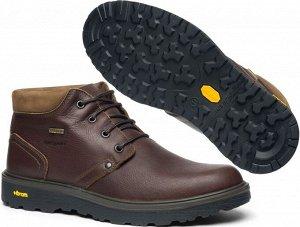 Мужские ботинки, коричневые