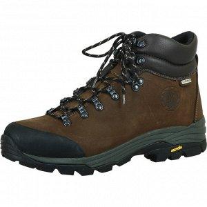 Мужские ботинки, темно-коричневые