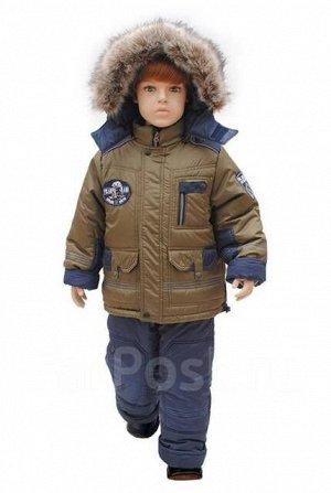 Новая зимняя куртка на мальчика