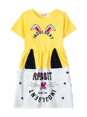 Платья для девочек Желтый