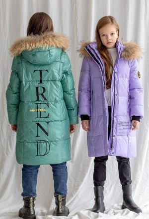 21102 Пальто для девочки Anernuo