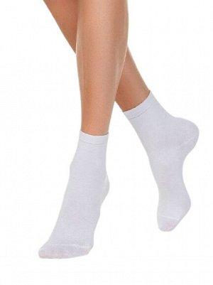 Носки женские однотонные, высокие