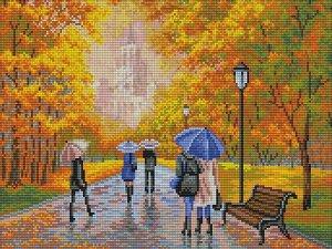 Набор (алмазная мозаика) Осенний парк