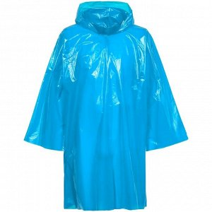 Дождевик-плащ CloudTime, цвет голубой