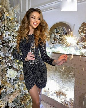 Платье НОВИНКА ♥♥ НОВИНКА ♥♥ НОВИНКА Люксовые вечерние платье 🎄🎄🎄 Ткань Пайетки + подклад тянется В размер идут
