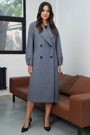 Пальто Пальто URS 21-579а  Состав: ПЭ-74%; Шерсть-6%; Акрил-20%; Сезон: Осень-Зима Рост: 164  Классическое, изысканное пальто просто идеально подойдет женщинам, которые предпочитают универсальные вещ