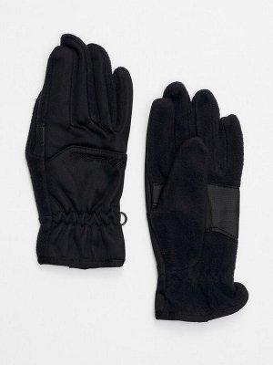 Перчатка спортивная мужская черного цвета 619Ch
