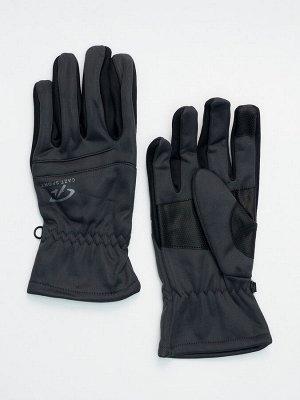 Перчатки спортивные мужские темно-серого цвета 605TC