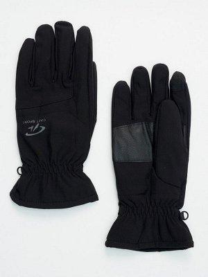 Горнолыжные перчатки мужские черного цвета 607Ch