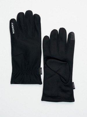 Классические перчатки зимние мужские черного цвета 601Ch
