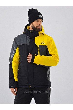 Мужская куртка (WINTER) Evil Wolf 9926 Желтый