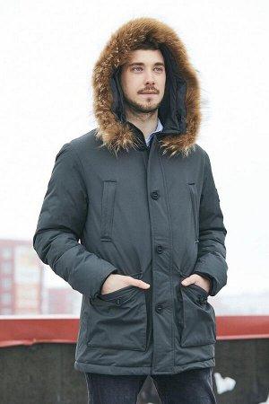 Мужская зимняя куртка с капюшоном Hermzi