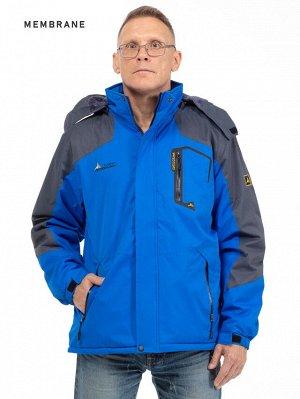 Мужская зимняя куртка с капюшоном. МЕМБРАНА. Абсолютная защита от ветра, снега и дождя