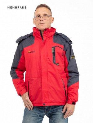 Мужская зимняя куртка с капюшоном. МЕМБРАНА. Оптимальный выбор!