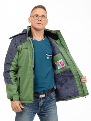 Мужская зимняя куртка с капюшоном. МЕМБРАНА. Легкая, комфортная и теплая!