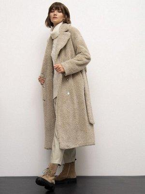 Пальто из экомеха R087/cosada