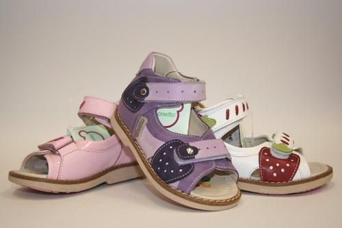 ортопедия, сандали девочке на первые шаги в Артеме