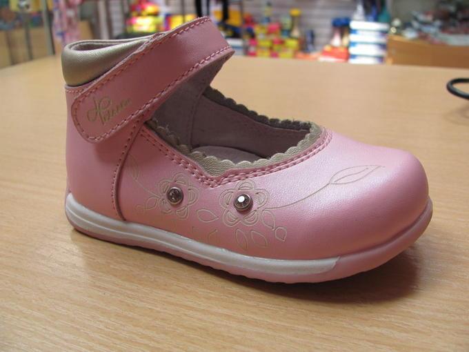 Туфли для принцессы розовые, р-р 2 во Владивостоке