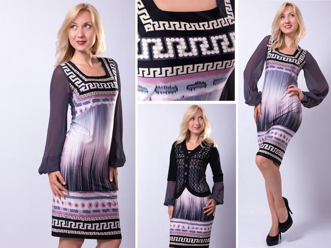 Платье из закупки трико во Владивостоке