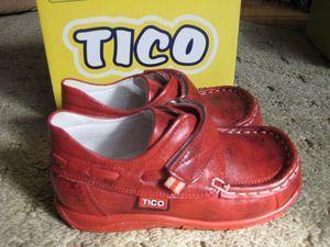 Красные мокасины TICO, размер 25 во Владивостоке