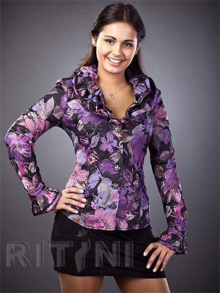 Красота  и качество по разумной цене. Блузка во Владивостоке