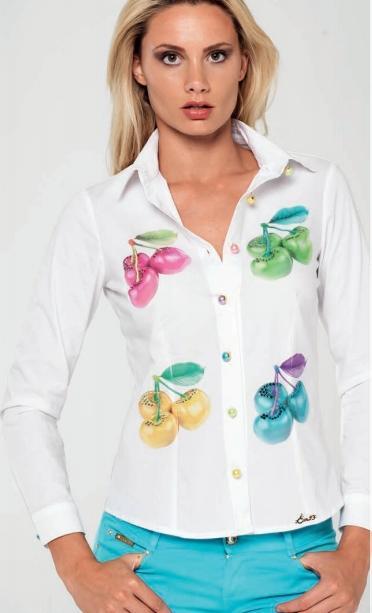 Потрясающая EAN13, рубашка женская (СКИДКА) во Владивостоке