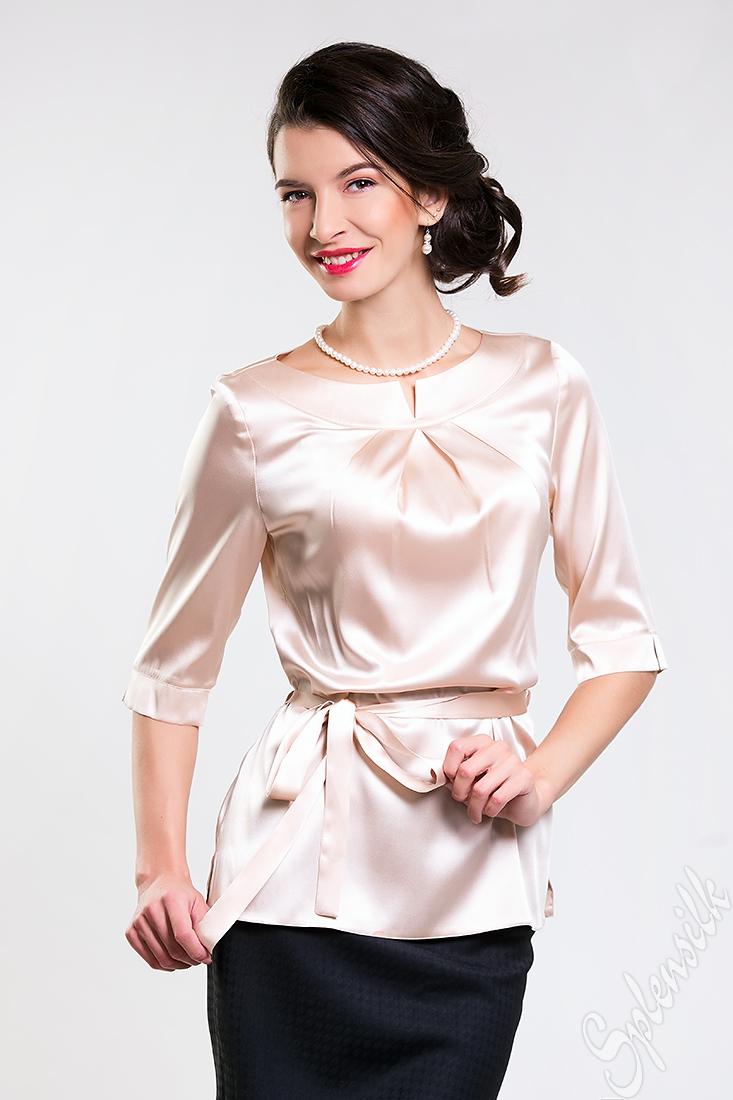 Блуза шёлковая, дешевле СП во Владивостоке