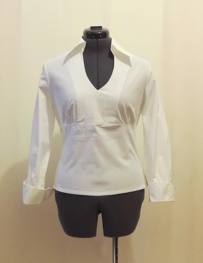 Белая блуза во Владивостоке