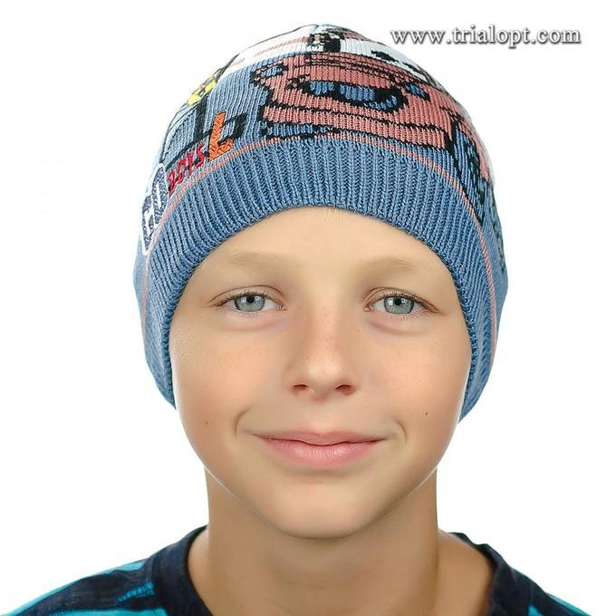 Шапочка для мальчика 48-50 размер во Владивостоке