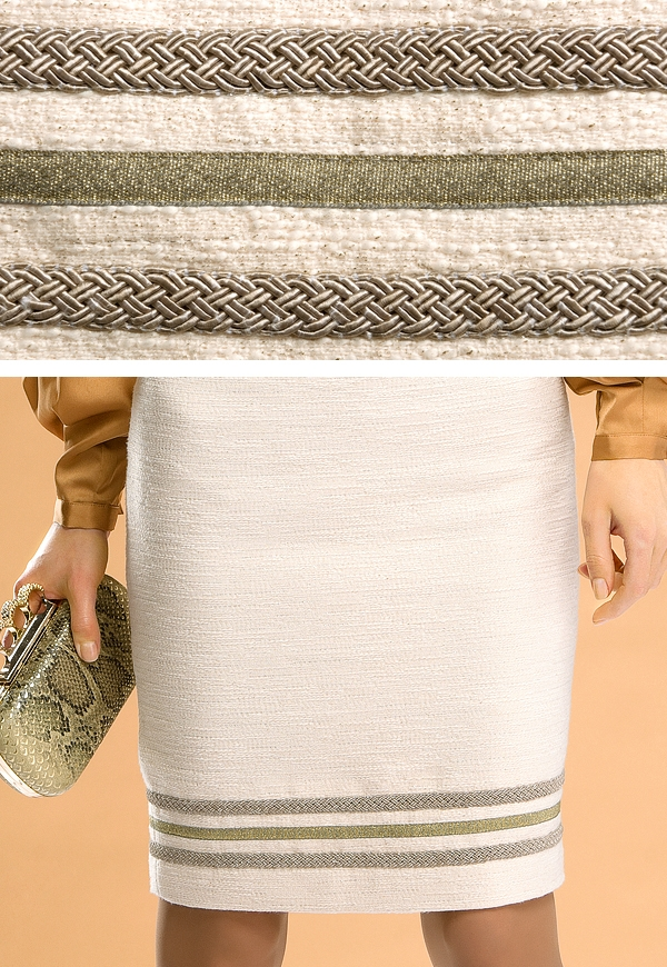 Красивая светлая юбка на ОБ 100-102 см во Владивостоке