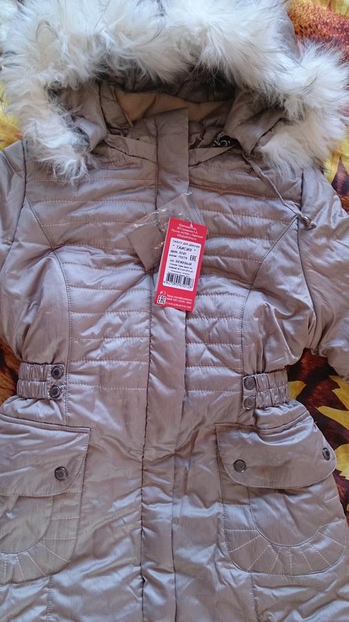 Отличное Зимнее пальто на девочку 152 см, реальное фото во Владивостоке