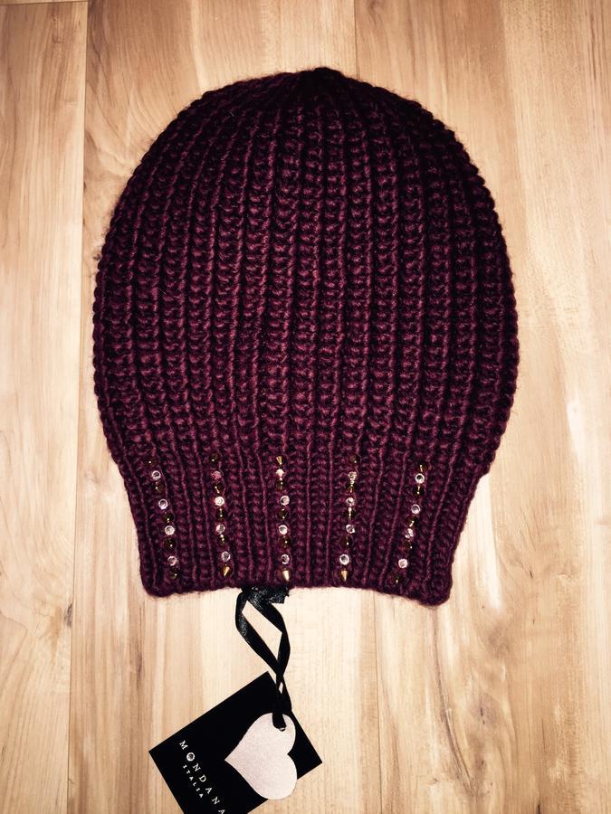 Итальянская шапка, цвет марсала! Очень красивая во Владивостоке