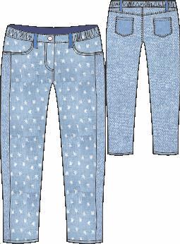 летние джинсики на девочку 104 см во Владивостоке