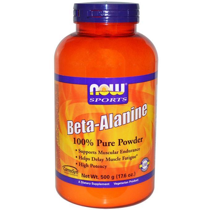 Now Foods Sports Beta-Alanine 500 гр.