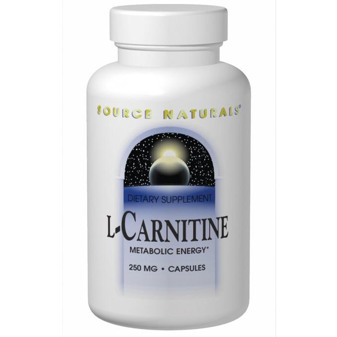 SOURCE NATURALS L-Carnitine 250 mg 120 кап.
