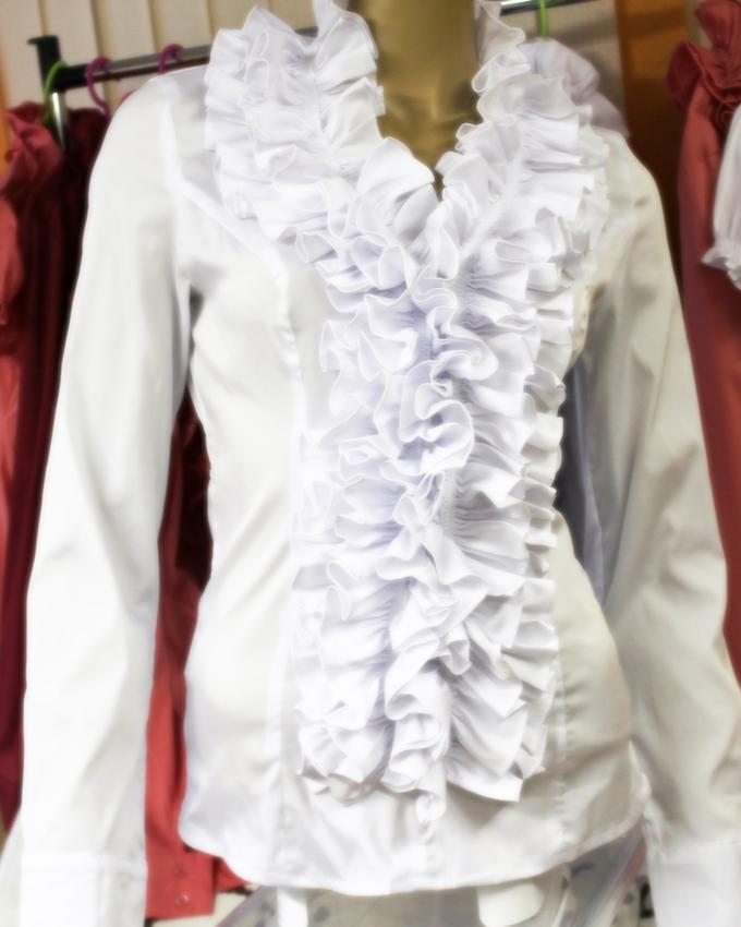 Блузка белая во Владивостоке