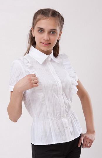 белая блузка для девочки. школа в Хабаровске