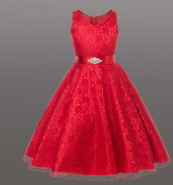 Красивое красное платье в Хабаровске