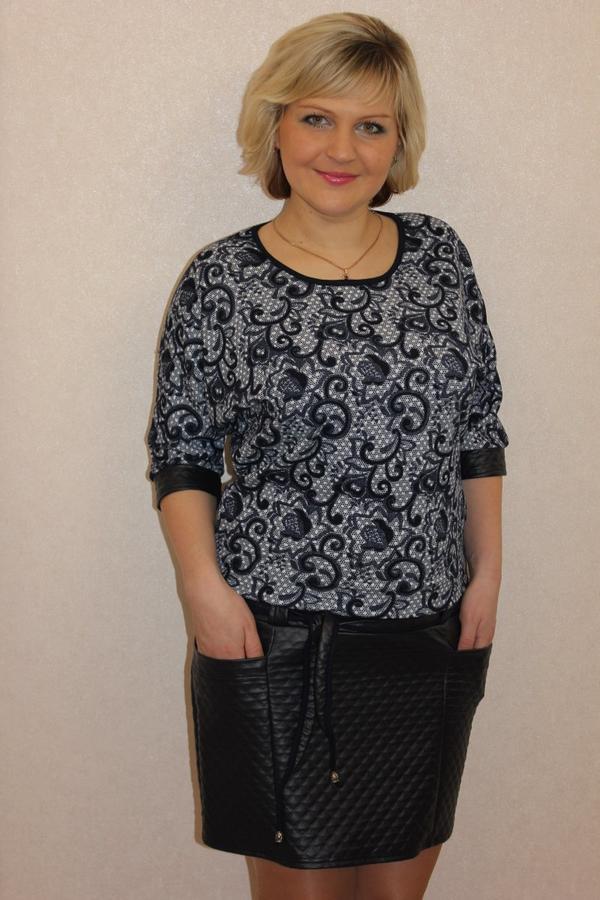 Платье комбинированное в Хабаровске