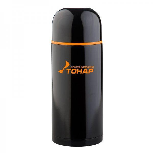 Термос HS.TM-023 500ML черный (дополн.пласт.чашка) TONAR