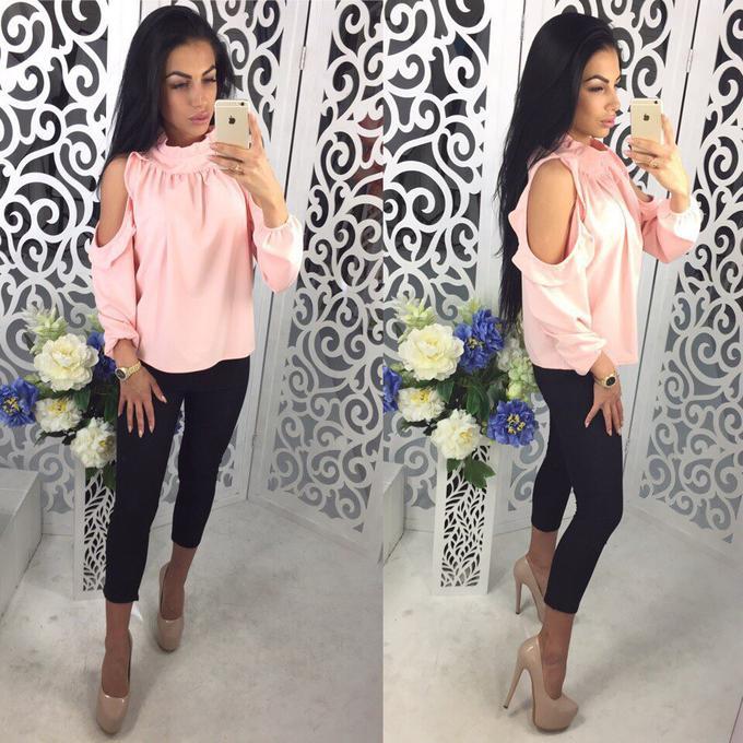 Блуза розового цвета во Владивостоке