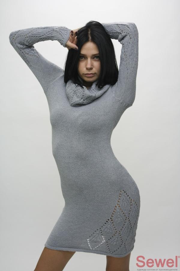 Классное вязаное платье в Комсомольске-на-Амуре