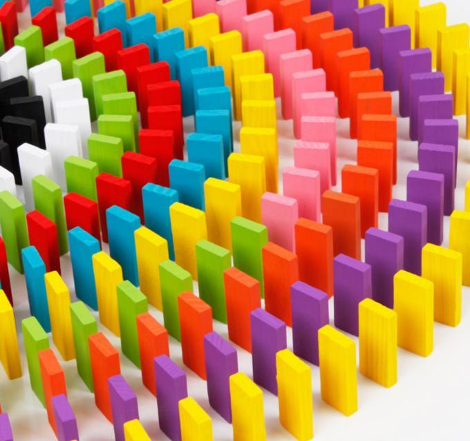 Цветное домино