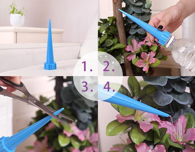Насадка-Автополив в домашние цветы (4 шт)