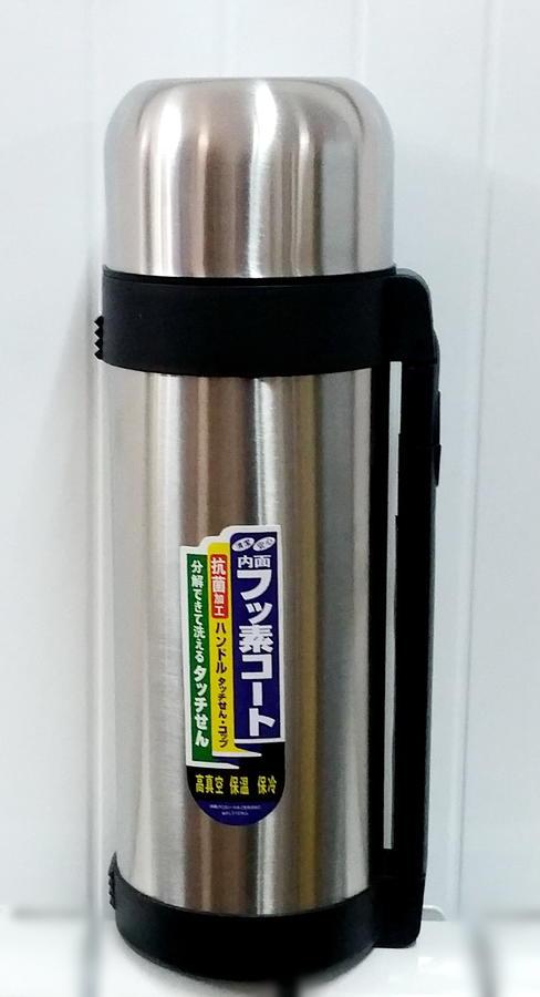 Термос Термос металлический от 98 С до 76 С остывает за 6 часов, при температуре окружающей среды +25 С Смотрите доп.фото! Коробка может незначительно отличаться!